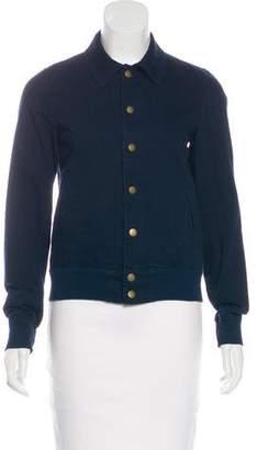 Current/Elliott Woven Varsity Jacket