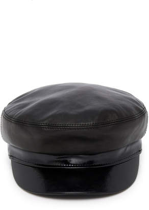 Avec La Troupe M'O Exclusive Majorette Smooth And Patent-Leather Cap