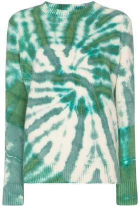 The Elder Statesman Tes tie-dye cashmere jumper