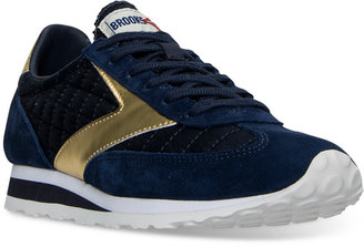 Brooks Women's Vanguard Heritage Casual Sneakers from Finish Line $74.99 thestylecure.com