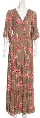 Timo Weiland Printed Maxi Dress