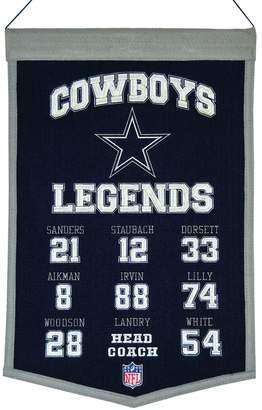 Winning Streak Dallas Cowboys Legends Banner