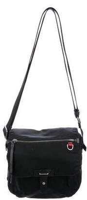 Tumi Nylon Flap Messenger Bag