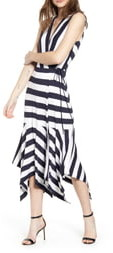 Bailey 44 Alexandria Stripe Midi Dress