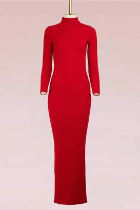 Balmain Wool Maxi Dress