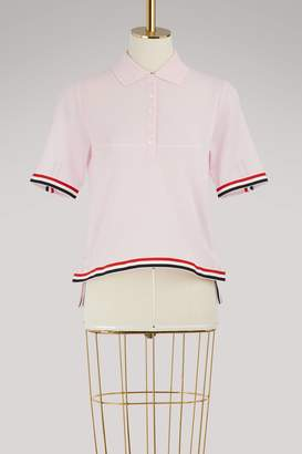 Thom Browne Grosgrain hem polo shirt