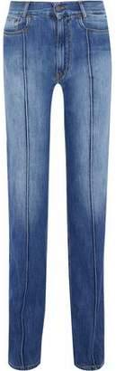 Maison Margiela Faded High-Rise Straight-Leg Jeans