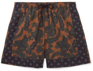 Dries Van Noten Short-Length Floral-Print Swim Shorts