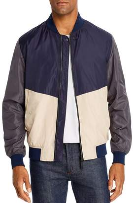 Sovereign Code Kyle Colorblock Bomber Jacket