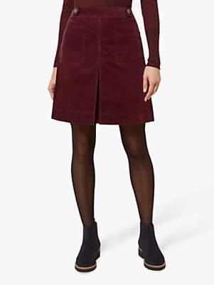 19d8fcbaf Burgundy A-line Skirt - ShopStyle UK