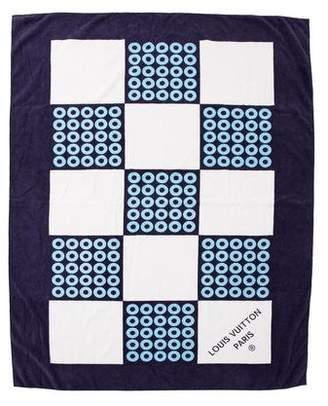 Louis Vuitton Printed Beach Towel