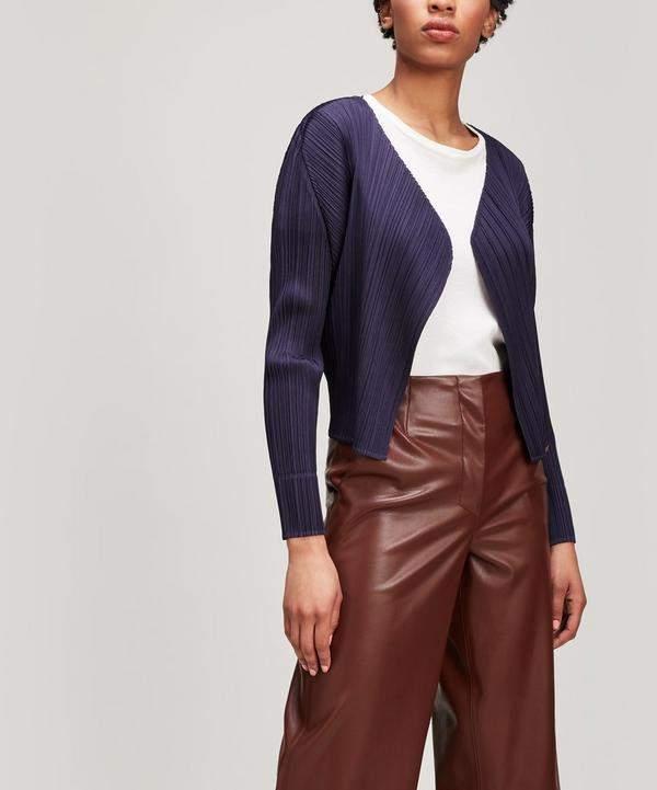 Basic Pleats Jacket