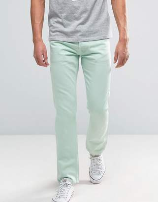 Tommy Jeans 90S Straight Fit Jeans M17 in Light Green