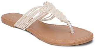 OLIVIA MILLER Gainesville Multi Strap Crochet Sandals Women's Shoes