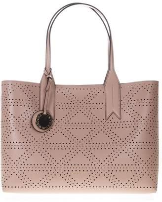 47ae784694 Emporio Armani Frida Powder Pink Faux Leather Bag
