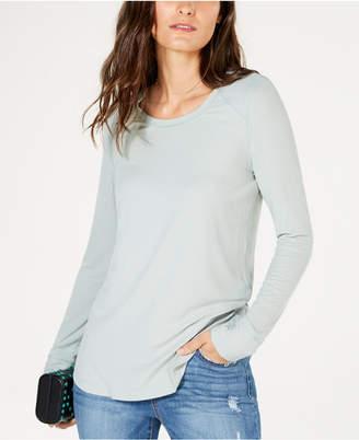 INC International Concepts I.n.c. Ribbed Long-Sleeve T-Shirt