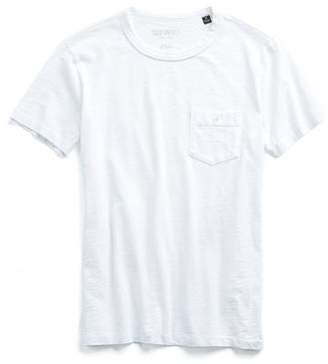 Todd Snyder Made in L.A Pocket T-Shirt in White