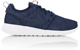 Nike Women's Roshe One Moire Sneakers-NAVY $85 thestylecure.com