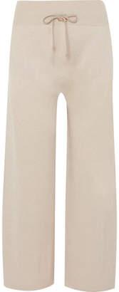 Agnona Cashmere Track Pants - Beige