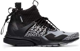 Nike Acronym X Presto leather trim Mid trainers