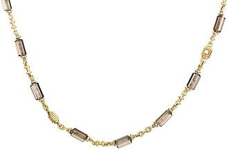 Judith Ripka Heritage  18K 0.10 Ct. Tw. Diamond & Gemstone Necklace