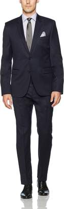 HUGO BOSS Men's 2 Button Contemporary Slim Fit Suit