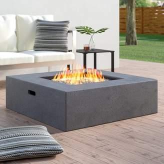 Wade Logan Olivet Propane Fire Pit Table