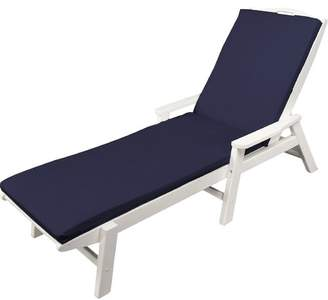 Ateeva Indoor/Outdoor Sunbrella Chaise Lounge Cushion