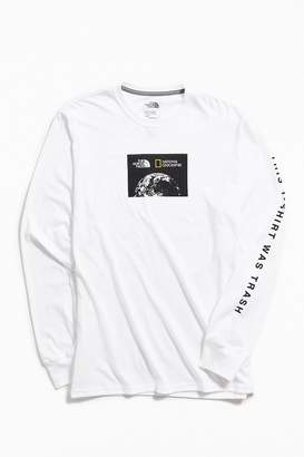 The North Face X National Geographic Bottle Source Long Sleeve Tee