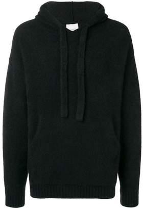 Laneus knitted hoodie