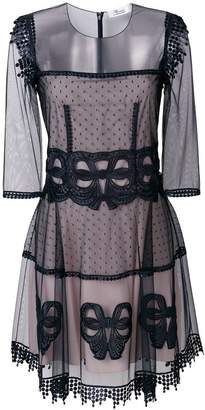 Blumarine lace design dress