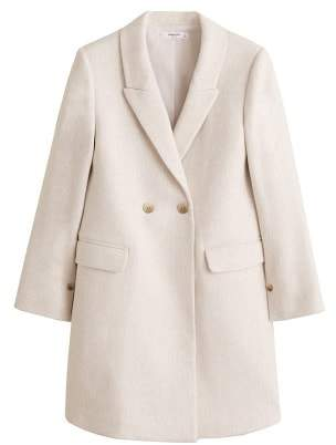 Mango MANGO Masculine structured coat
