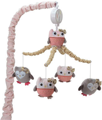 Lambs & Ivy Family Tree Owl Musical Baby Crib Mobile Bedding