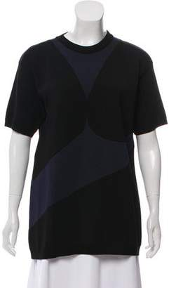 Prada Contrast Knit Top