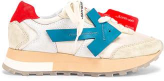 Off-White Off White HG Runner Sneaker in White & Blue   FWRD