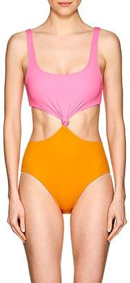 Solid & Striped Women's Bailey Cutout Colorblocked One-Piece Swimsuit