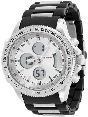Steve Madden Men's Quartz Bracelet Watch, 48mm
