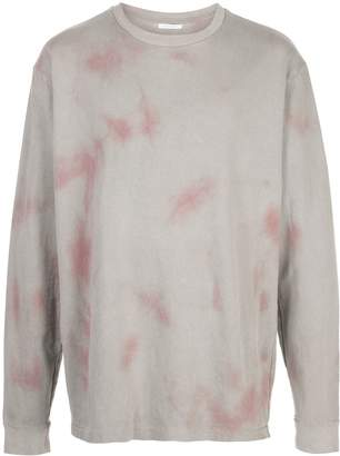 double-dye print sweatshirt