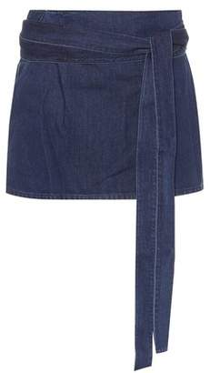 J.W.Anderson Cotton and linen miniskirt