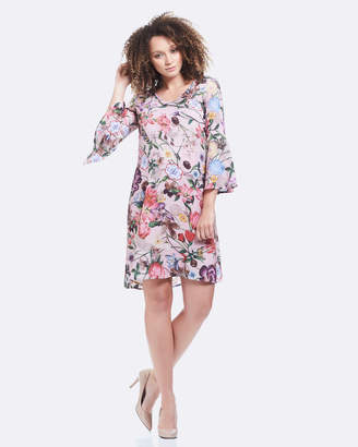 Soon Harper Bell Sleeve Dress