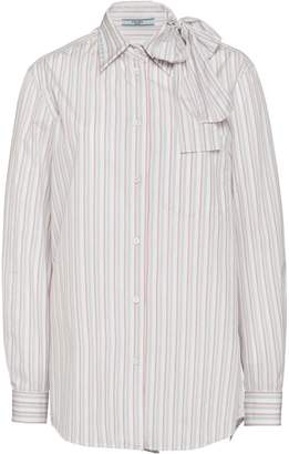 Prada striped blouse