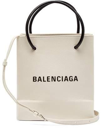 Balenciaga Shopping Tote Xxs - Womens - White