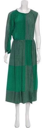 Robert Rodriguez Silk Printed Dress w/ Tags