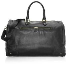 hook + ALBERT Leather Garment Weekender