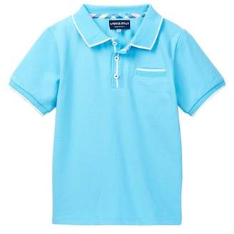 Andy & Evan Polo with Ribbing (Toddler & Little Boys)