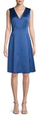 Anne Klein Sleeveless Pleated Dress