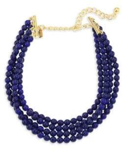 Kenneth Jay Lane Beaded Multi-Strand Choker