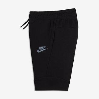 Nike Tech Fleece Little Kids' (Boys') Shorts $65 thestylecure.com