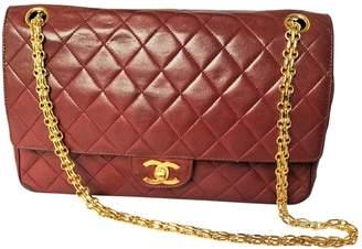 Chanel Vintage 2.55 Bordeaux Leather Handbag
