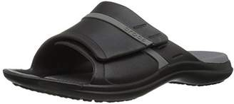 Crocs Unisex Adults' Modi Sport Slide SandalsBlack (Black-Graphite 02S)4 UK Women / 3 UK Men (6 US Women / 4 US Men)